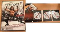 Wwe Estuche Shawn Michaels 3 DVD