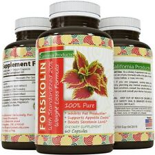 Forskolin Weight Loss Diet Pills Burn Fat Carb Blocker Reduce Appetite Cravings