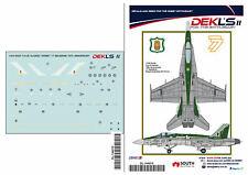 1/144  F/A-18 Hornet - RAAF 77 SQN 70th Anniversary Decal  DEKL's II