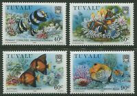 TUVALU: MARINE LIFE 1989 - MNH SET OF FOUR (G16-PB)