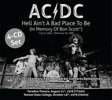 AC/DC 'Hell Ain't A Bad Place To Be' (New 4 CD)