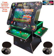 ✅ 4 Player Cocktail Arcade Machine🔥3500 Classic Games ✅ 26.5 Screen Trackball