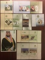 Saudi Arabia 2017 Full Year Set Of Stamps And Minisheets