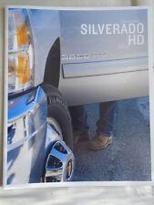 Chevrolet Silverado HD range brochure 2012 USA market