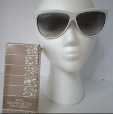 Avon Vintage Sunglasses White Made in Italy 1987 Summer Active new in box