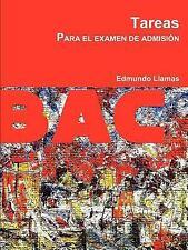 Tareas para el Examen de Admisión by Edmundo Llamas (2011, Paperback)