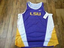 5650a88baf69 Nike NCAA LSU Tigers College Basketball Dri Fit Jersey Womens Medium