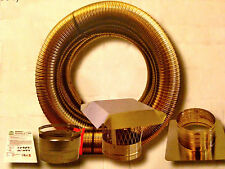 Smoothwall 6x35 Chimney INSERT Liner Kit (316) Stainless Steel Easy To Install
