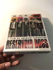 NEW RESERVOIR DOGS BLU-RAY LENTICULAR SLIP STEELBOOK! NOVAMEDIA SEALED 624/1200