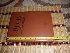 Biblia Para La Predicacion Reina-valera  1960 9781598774443