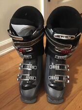 Ski Boots Mens Salomon Elios 6 US Size 9 - 295 / 25-25.5 Grey Gray Black Red