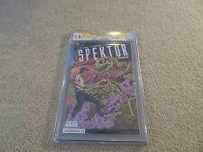 Doctor Spektor Master Of The Occult #1 Sharp Comics Edition CGC SS 9.8 x2 Layton