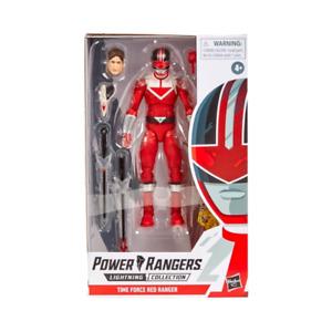 Power Rangers Lightning Time Force RED Ranger New UK & MISB