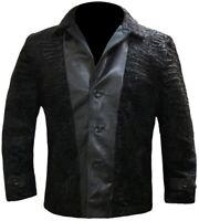 Men's Persian Lamb Black Coat, Persian Black Jacket, All Sizes Available