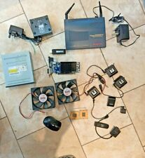 Job lot of Computer PC Parts, graphics card, gigabit network switch, router, CPU