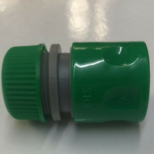 """1/2"""" Hose Connector with Shut Off Fitting Garden Water Pipe Leak Proof Fixture"""