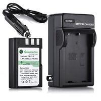 2000mAh EN-EL9 EN-EL9A Battery + Charger For Nikon D40X D40 D60 D5000 D3000