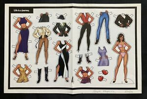 Life is a Journey Magazine Paper Doll, 1997, People Magazine