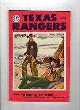 Texas Rangers Pulp Magazine Oct 1953 UK Edition VG/F
