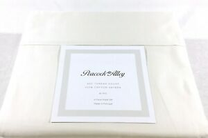 KING Sheet Set Solid Ivory Peacock Alley 100% Cotton Sateen 400TC New