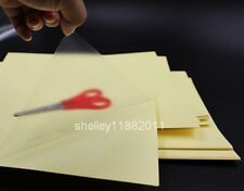 20x A4 Clear UV-coating Glossy Film Sticker Paper Self Adhesive For Laser Print