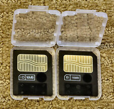 Two 16mb Smartmedia Cards for Zoom ST-224 ST224 SampleTrak Sampler (Guaranteed)