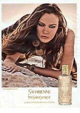 PUBLICITE ADVERTISING 2011  YVES SAINT LAURENT  saharienne est son parfum