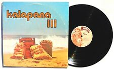 KALAPANA: III LP ABATTIOR RECORDS KALA0004 US 1977 Textured Cover NM-