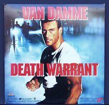 DEATH WARRANT -  Laserdisc 1990 - Jean-Claude Van Damme