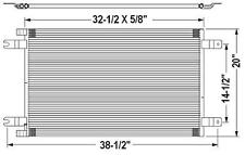 New 2008 2009 2010 Peterbilt 384 / Peterbilt 386 A/C Condenser AC