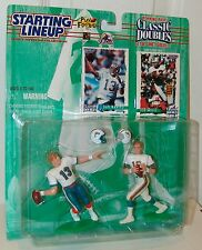 NFL Starting Lineup 1997 Classic Doubles Dan Marino Bob Griese Football Figure