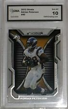 2012 TOPPS STRATA ADRIAN PETERSON #40 GEM MT 10 BY GMA NICE CARD!