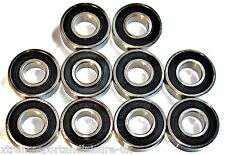 10 pack 6000 2rs 10x26x8w Deep Groove SEALED HIGH PERFORMANCE BEARINGS