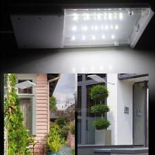 Solar Power Dusk-to-Dawn Sensor Outdoor Waterproof Security Path LED Flood Light