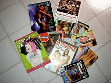 lotto riviste cinema / flesh & blood + video watchdog + supersex + look inside !