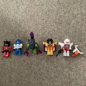 Transformers Kre-O Kreon Microchangers x5