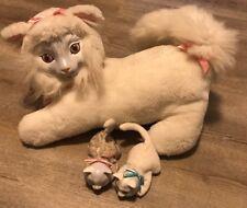 Vintage Kitty Surprise White Fluffy  Hasbro Two Kittens