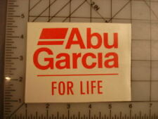 "Lot of 3 Abu Garcia Decal Vinyl Stickers 3.25"" x 4.25"""