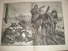 For this they fight RC Woodville 1878 large old print ref Y1