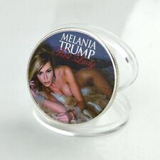 1 Pc Melania Trump Silver American First Lady Commemorative Coin US Half Dollar