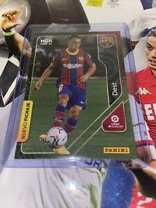 Sergino Dest Panini Megacracks 2020/21 Barcelona Rookie Football Card - USMT