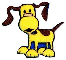 """1.5"""" BOB THE BUILDER SCRUFTY DOG  FABRIC APPLIQUE IRON ON CHARACTER"""