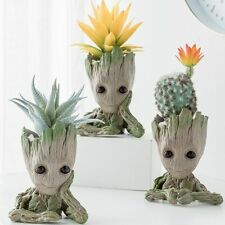 Baby Groot Flowerpot plant pot stand for flowers holder Home Decoration vase