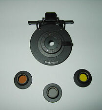 Gehmann Clip-on Eyeshield W/Iris with colored filters ISSF Approved  #390-392