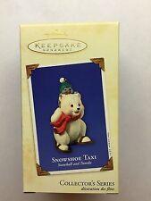 "Hallmark Keepsake Ornament ""Snowshoe Taxi"" Mib 2003 Collector's Series"