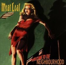 MEAT LOAF - WELCOME TO THE NEIGHBOURHOOD IMPORT  Original Audio Music CD New UK