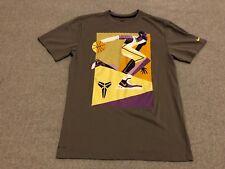 Nike Dri-Fit Kobe Bryant Graphic Tee Shirt T-Shirt Lakers Mamba Men's Medium