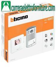 BTICINO 365511 KIT MONOFAMILIARE VIDEOCITOFONICO 2FILI CLASSE 100