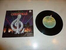 """HOOKED ON CHRISTMAS - 1983 2-Track UK 7"""" PROMO vinyl single"""
