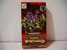 Teenage Mutant Ninja Turtles Mutant Warriors Nintendo Super Famicom SFC
